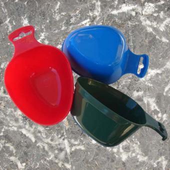 Outdoor Becher - grün, rot oder blau