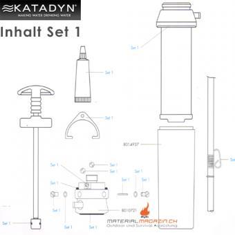 Katadyn Pocket Kleinteile/Maintenance Kit (20648)