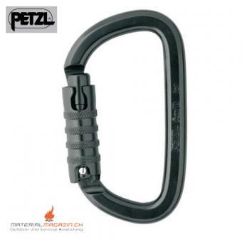 Petzl AM'D Triact-Lock Alu-Karabiner,  schwarz