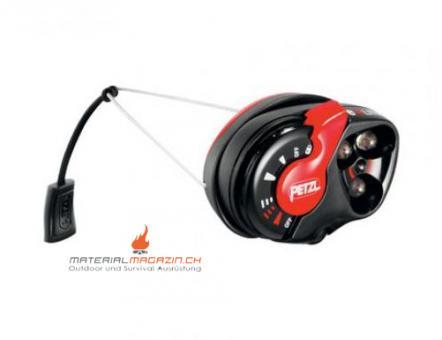 Petzl E+Lite Stirnlampe, 1m wasserdicht