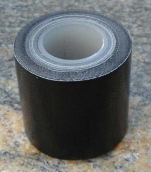 Gewebeklebeband wasserdicht 50mm, schwarz